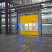 Movidor High Speed Door in winery