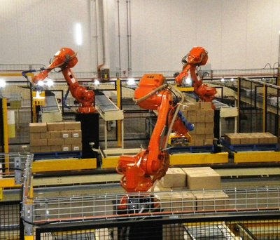 GWF Robots in Action