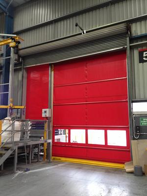 Rapid Roller Door in warehouse