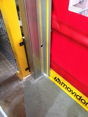 New doorway Steelwork