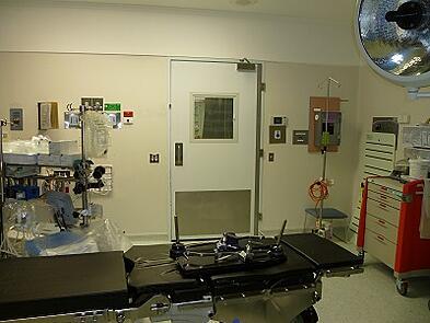 Hospital Theatre Swing Door