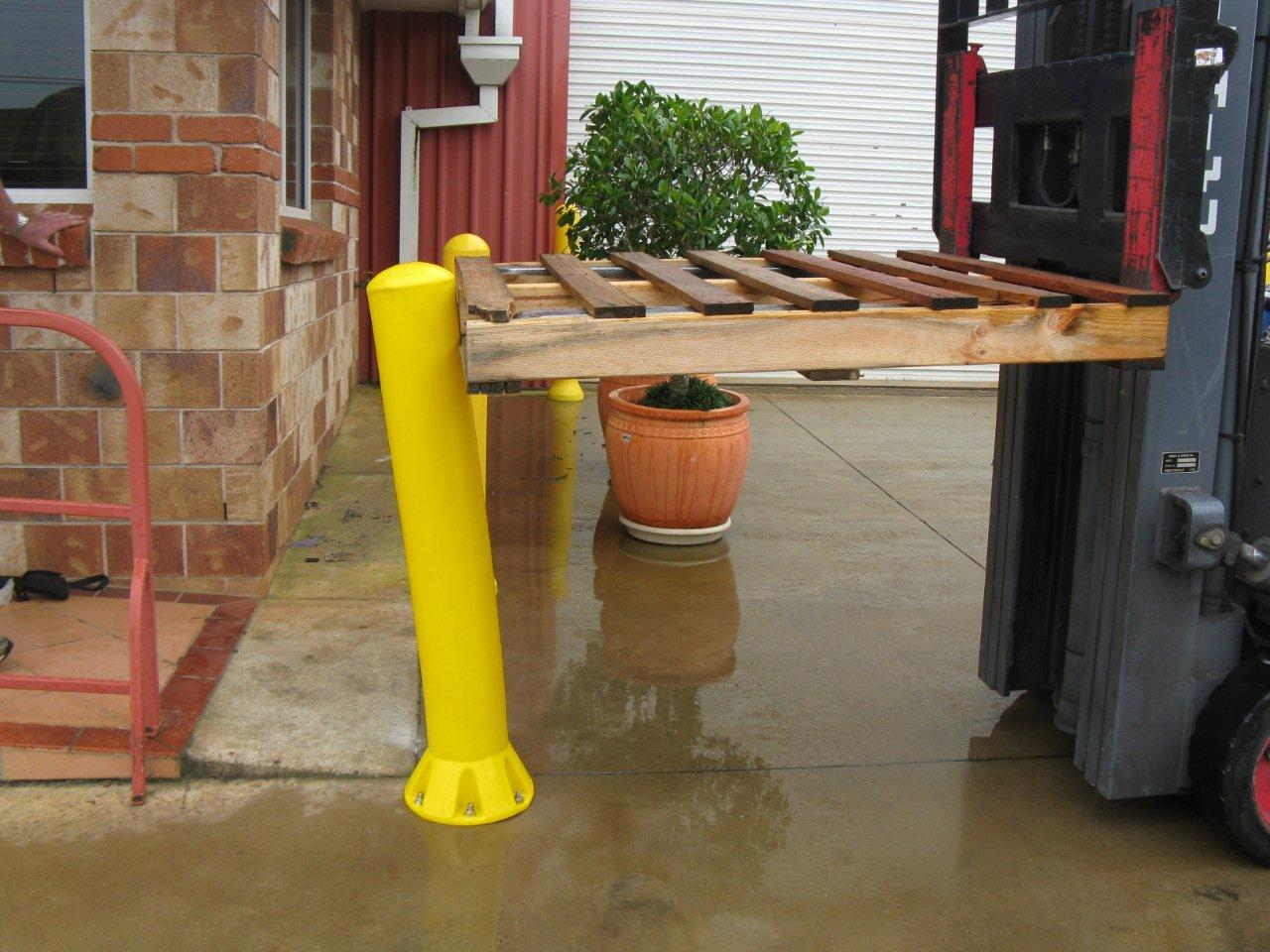 Flexible Poly Bollard