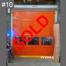 clearance item orange rapid door sale