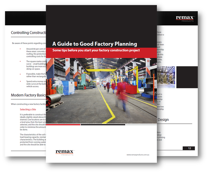 A Guide to Good Factory Planning