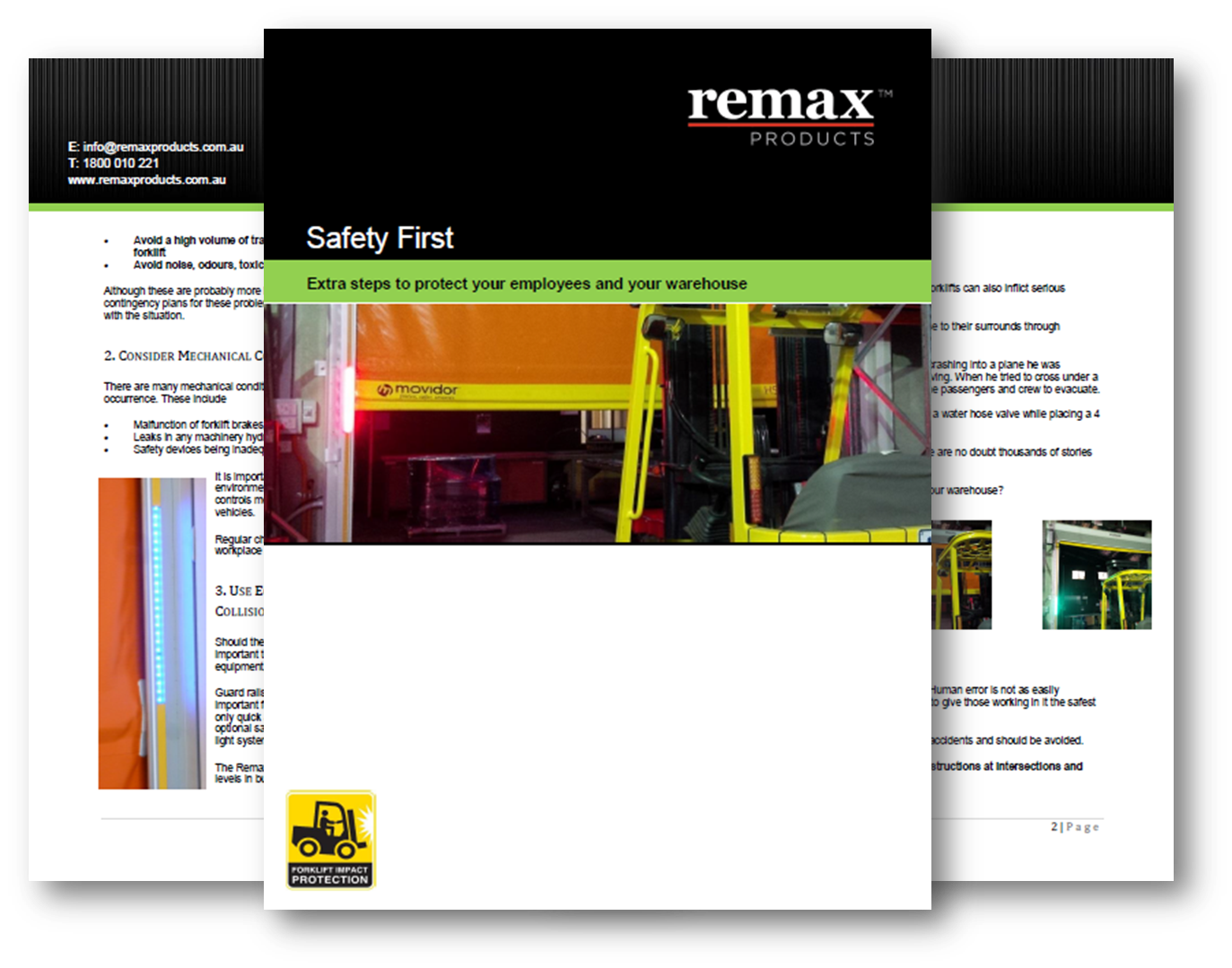 Safety First eBook