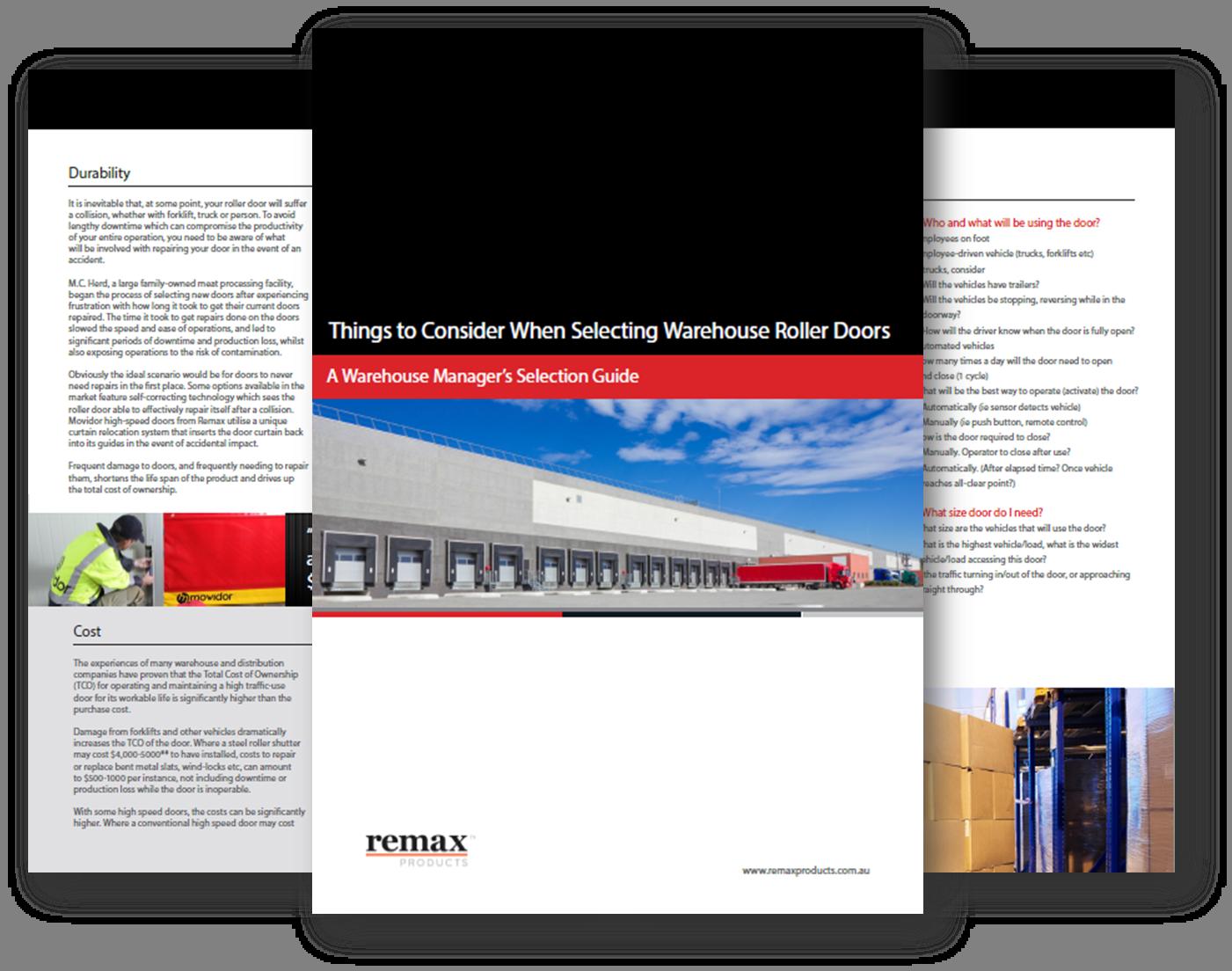 Buyers guide to warehouse doors