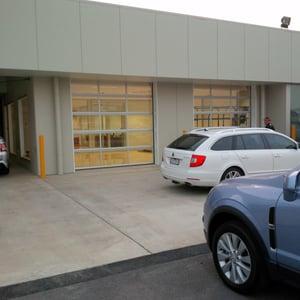 Wagga Motors Compact Door