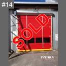 clearance item red rapid door sale