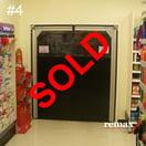clearance item pvc swingdoor sale