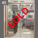 clearance item PVC Swing door sale