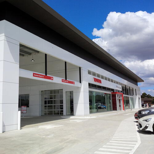 car showroom Kilmore Toyota