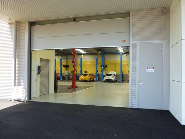 Mazda Warrnambool New Car Showroom Doors