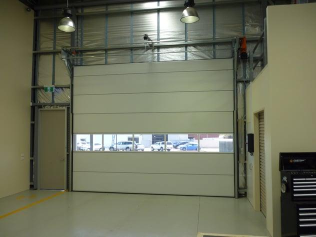 car dealership thermal door