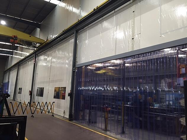 Flexwall Warehouse Partitioning