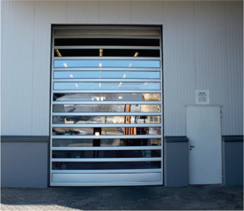 High Speed Spiral Rapid Door