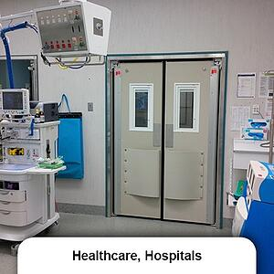 Healthcare and Hospital swing doors