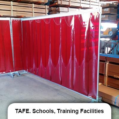 TAFE_Schools_Training_Facilities welding screen