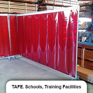 TAFE_Schools_Training_Facilities welding screen