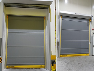 Thermic_Insulated Rapid Door
