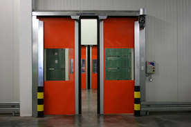 Transsprint bi-parting roller door