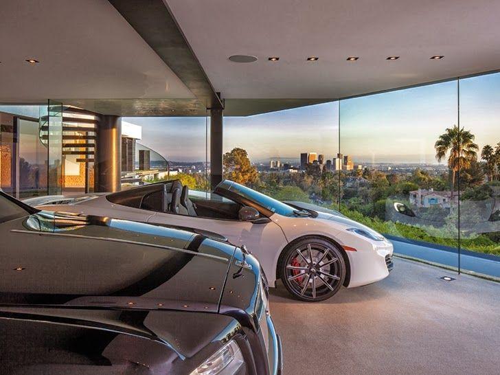modern car showroom