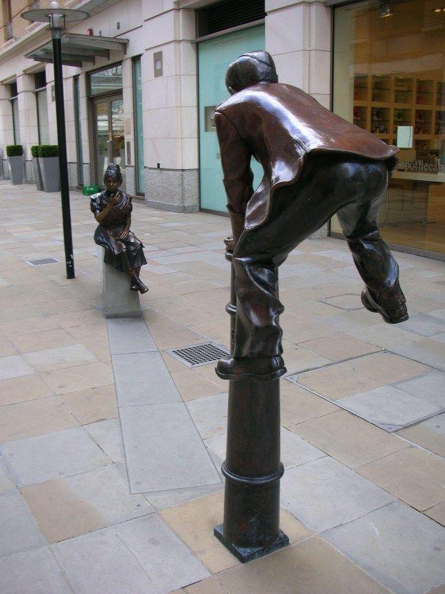 Duke of York Square London Bollards.jpg