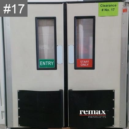 Discount Item 17_white pair swingdoors
