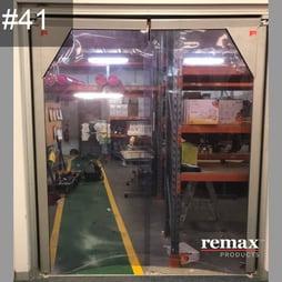 Item 41_PVC 2400 Swingdoor Clearance