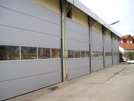 Industrial Compact Sectional Door