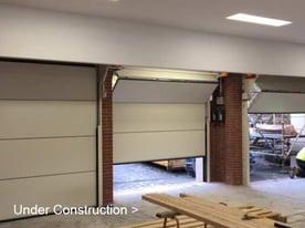 Compact Sectional Door Residential