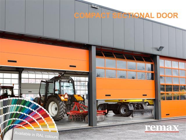 Compact Sectional Door Milling and Grain