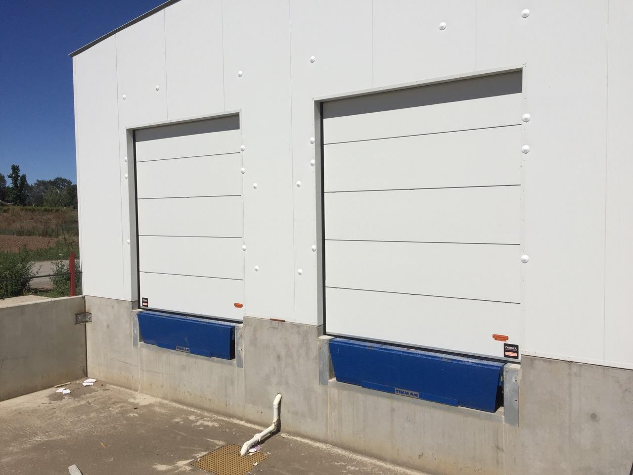 Thermal compact doors