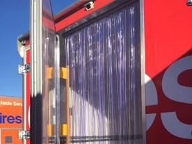 Static Truck body Stripdoors