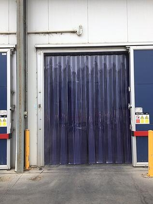 PVC Ribbed Stripdoors