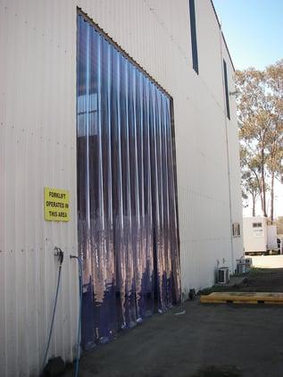 Flat PVC Stripdoor