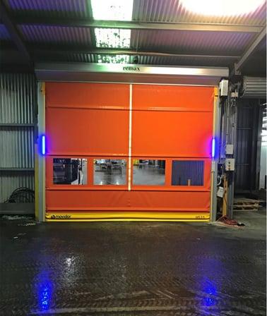 Rapid Doors at Vizzarri farms