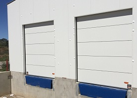 Compact Sectional Door_Insulated Dock Door