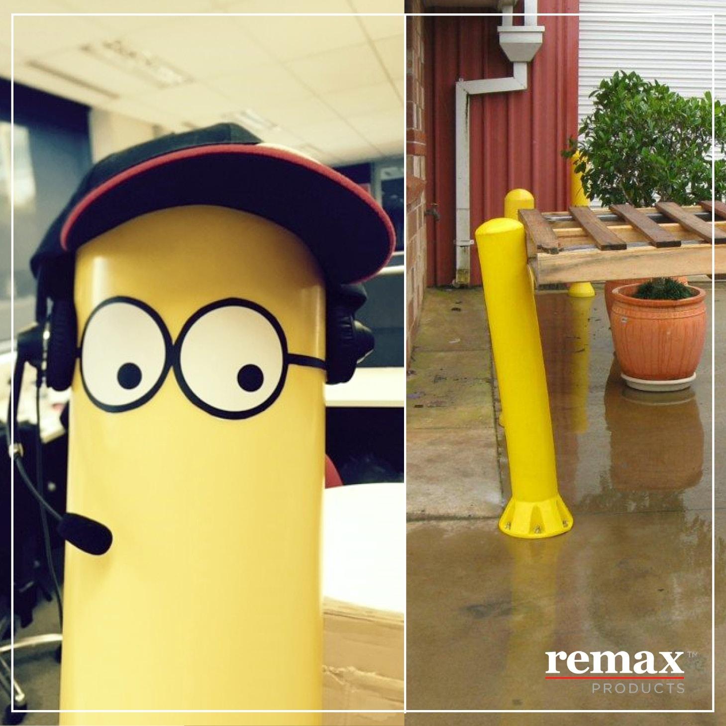 Remax Minion Bollard.jpg