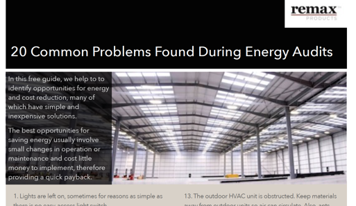 A Guide to Energy Control in Warehouses