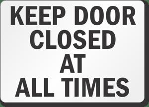 closed-door-gate-sign-s-0973
