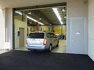 Mazda Warrnambool Car Showroom Doors